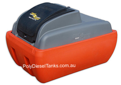 400L bunded Diesel tank option