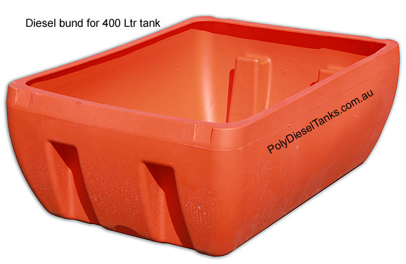 400Ltr plastic diesel fuel tank on ute