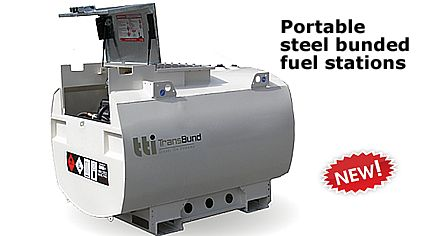 Steel bunded fuel tanks